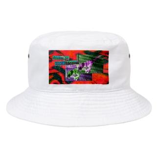 チグハグ Bucket Hat