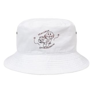 マカロンおひるねまち Bucket Hat