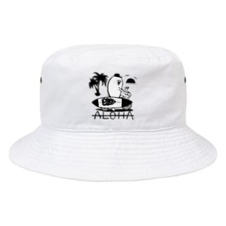 ワイハのぽっちょ Bucket Hat