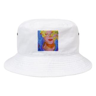 女のコの憂鬱 Bucket Hat