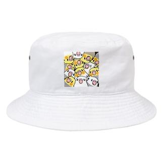 みっちりむっちり過密オカメインコさん【まめるりはことり】 Bucket Hat