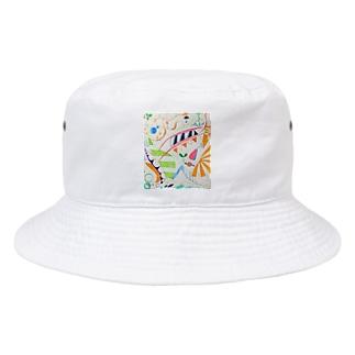 昼寝 Bucket Hat