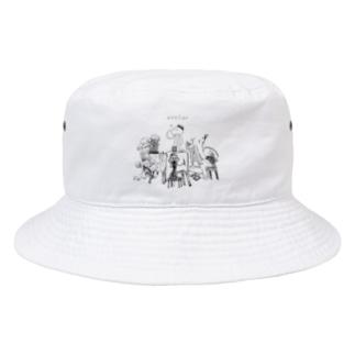 アトリエで作ろう Bucket Hat