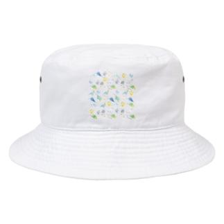 めっちゃセキセイインコちゃん【まめるりはことり】 Bucket Hat