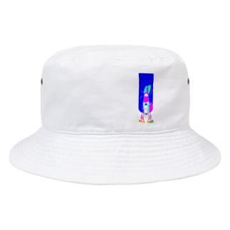 窒息死した青 Bucket Hat