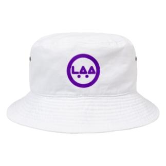 LAA_サークルロゴ_P Bucket Hat
