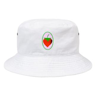 いちご Bucket Hat