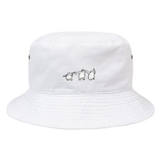 ジェンツーペンギンのあかちゃん Bucket Hat