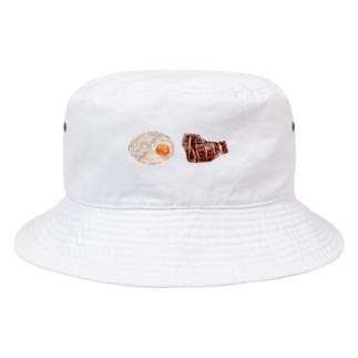 牛タンと麦飯のとろろがけ Bucket Hat
