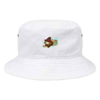 空飛ぶ次女 Bucket Hat