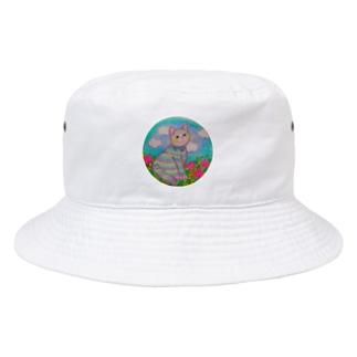 えりおの手描き絵グッズ♪ Bucket Hat