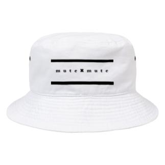 mute✖︎mute Bucket Hat