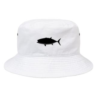 クロマグロのクマロくん^^ Bucket Hat
