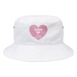 ゆるいぐっずを生み出す母のLOVE MOTEL  Bucket Hat