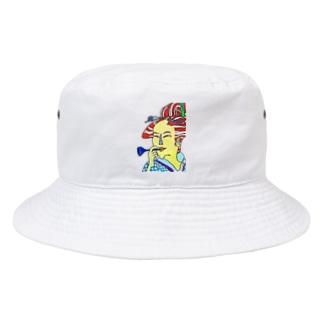 うっきょ ふじよ Bucket Hat