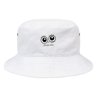 目玉☆見てるだけ Bucket Hat