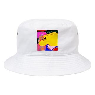 ハロー Bucket Hat