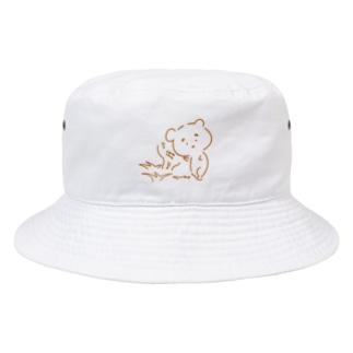 まゆ毛くまさん『虫のこえ』 Bucket Hat