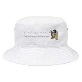 気まぐれなストローク Bucket Hat