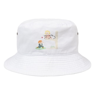 二階から目薬 Bucket Hat