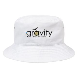 GravityBlacklogo ver2 Bucket Hat