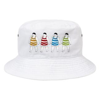 でぶさんず Bucket Hat