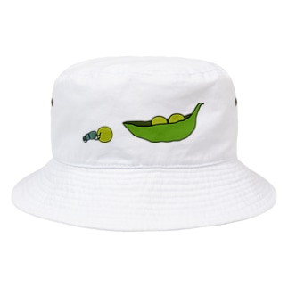 えんどう豆を運ぶフンコロガシ Bucket Hat