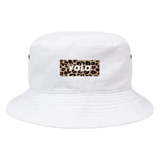 レオパードYOLO Bucket Hat