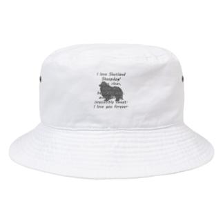 シェットランドシープドッグ Bucket Hat
