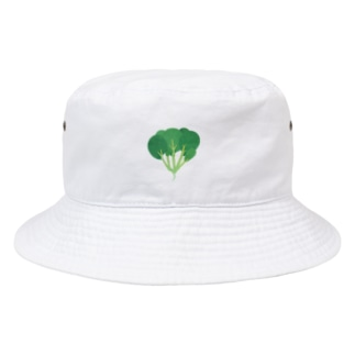 yorimichiのほうれん草 Bucket Hat