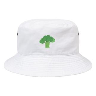 yorimichiのブロッコリー Bucket Hat
