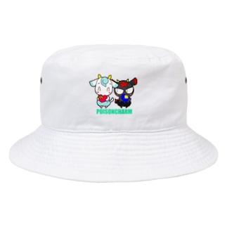 アオヤギさんとミヤギちゃん Bucket Hat