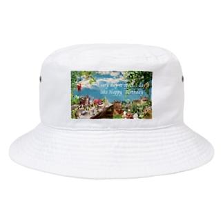 ハッピーバースデーのような毎日を送るあなたへ…♡ Bucket Hat