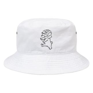 くまのシロ Bucket Hat