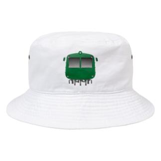 玉電 500系 初代青ガエル ビッグ Bucket Hat
