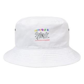 乳児院へクリスマスプレゼントを〜happyゆいまーる〜 Bucket Hat