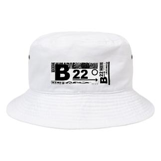 𝙤𝙨𝙢のTICKET_B Bucket Hat
