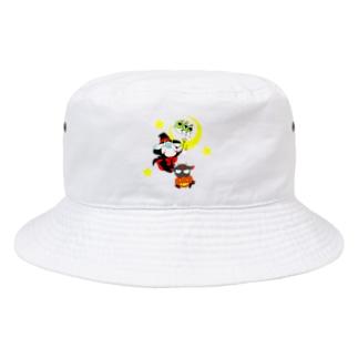 アオヤギミヤギハロウィン Bucket Hat