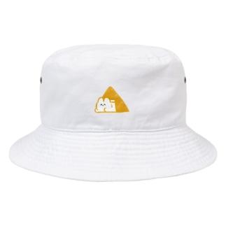 テント泊するうさぎ⛺️(黄) Bucket Hat