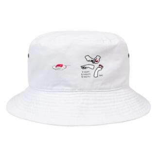 寿司ダーツ Bucket Hat