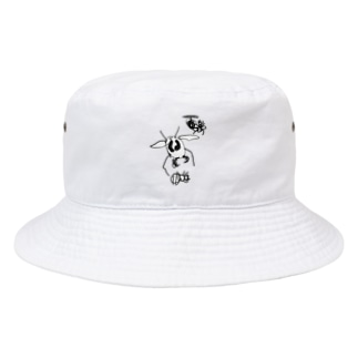 オオスズメバチとセイヨウミツバチ Bucket Hat