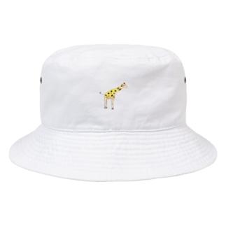きりんです。 Bucket Hat