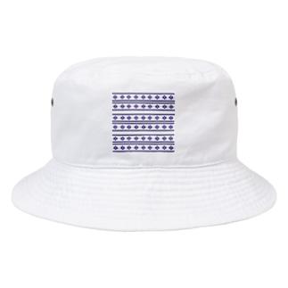 ネイティブ柄 Bucket Hat
