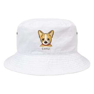 生意気コーギー Bucket Hat