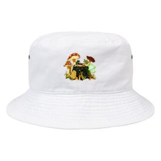 森の奥の忘れもの Bucket Hat