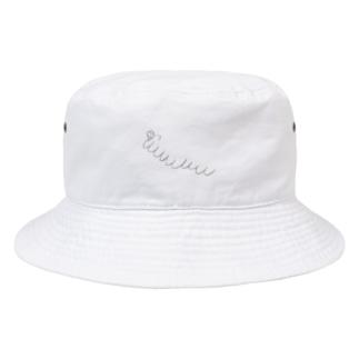 九重顎イモムシ Bucket Hat