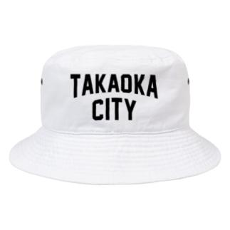 高岡市 TAKAOKA CITY Bucket Hat