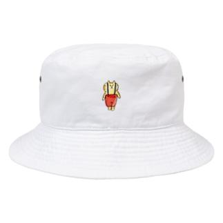 サスペンダーくん Bucket Hat