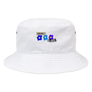 テプラで伝える「好き」 Bucket Hat