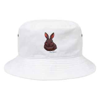 不思議野ウサギ Bucket Hat